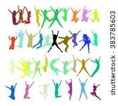 win win big group  | Shutterstock .eps vector #383785603