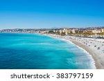 View Of Nice  Mediterranean Sea ...