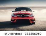 saratov  russia   august 24 ... | Shutterstock . vector #383806060