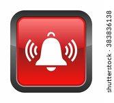 ringing bell icon | Shutterstock .eps vector #383836138