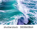 Ocean Splashing Waves
