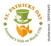 Patrick St Day Irish Leprechaun ...
