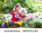 Children Planting Spring...