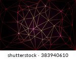 poly background with colored... | Shutterstock .eps vector #383940610
