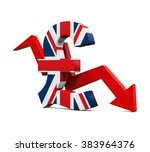 Great Britain Pound Symbol And...