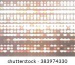 image of defocused beige...   Shutterstock . vector #383974330
