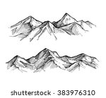 hand drawn vector illustration  ... | Shutterstock .eps vector #383976310