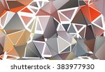 abstract pattern consisting of... | Shutterstock .eps vector #383977930