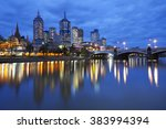 The Skyline Of Melbourne ...