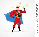 Super Hero Daddy In Superhero...
