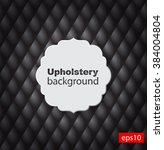 upholstery tufted leather... | Shutterstock .eps vector #384004804