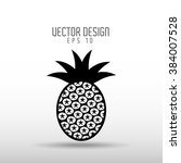 delicious fruit design  | Shutterstock .eps vector #384007528