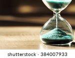 sand running through the bulbs... | Shutterstock . vector #384007933