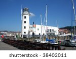 Scenic View Of Lighthouse And...