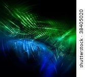 abstract technology fractal   Shutterstock . vector #38405020
