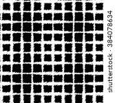 seamless black and white vector ... | Shutterstock .eps vector #384078634