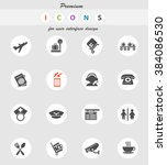 airport icon for web sites and... | Shutterstock .eps vector #384086530