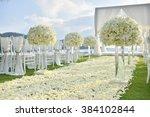 wedding set up | Shutterstock . vector #384102844