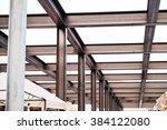 i beam steel construction    Shutterstock . vector #384122080