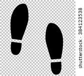 imprint soles shoes sign. flat...