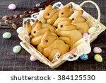 Baking Easter Bunny In A Wicke...