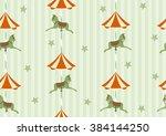 seamless background pattern of... | Shutterstock .eps vector #384144250