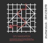 gps navigation | Shutterstock .eps vector #384158398