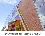 Brick Modern Shopping Center...