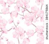 Japanese Sakura Seamless...