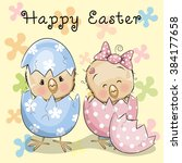 Greeting Easter Card Two...