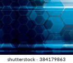 abstract technology background... | Shutterstock .eps vector #384179863