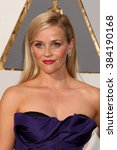 Small photo of LOS ANGELES - FEB 28: Reese Witherspoon at the 88th Annual Academy Awards - Arrivals at the Dolby Theater on February 28, 2016 in Los Angeles, CA