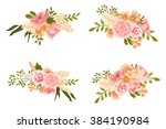 hand drawing flowers clip art | Shutterstock . vector #384190984