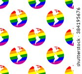 seamless background with gays... | Shutterstock .eps vector #384195676