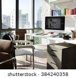 computer connection technology...   Shutterstock . vector #384240358