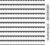 seamless geometric pattern.... | Shutterstock .eps vector #384284080
