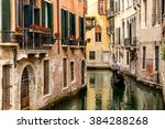Gondola In Picturesque Venice...
