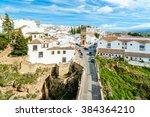 White Spanish Buildings Built...