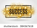 success symbol. successful gold ...