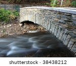 bridge over minnehaha creek in... | Shutterstock . vector #38438212