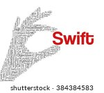 conceptual tag cloud containing ... | Shutterstock .eps vector #384384583