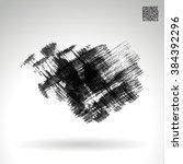 brush stroke and texture.... | Shutterstock .eps vector #384392296