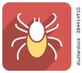 mite long shadow vector icon.... | Shutterstock .eps vector #384414910
