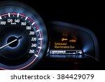 car speedometer with... | Shutterstock . vector #384429079