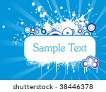 abstract stylish background...   Shutterstock .eps vector #38446378