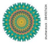 mandala vector for art ...   Shutterstock .eps vector #384507634