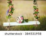 Wedding Bouquet Of Peonies...