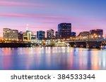 hartford skyline and founders... | Shutterstock . vector #384533344