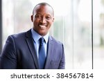 cheerful african business man... | Shutterstock . vector #384567814