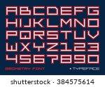 square contemporary monospaced...   Shutterstock .eps vector #384575614